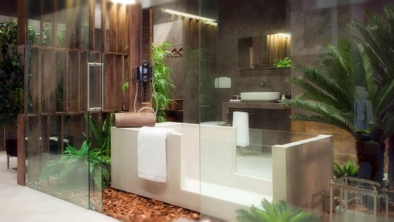 Подходящие растения для ванной комнаты и особенности ухода за ними