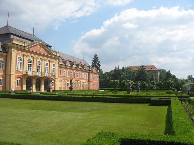 добржиш, чешская республика, пейзаж
