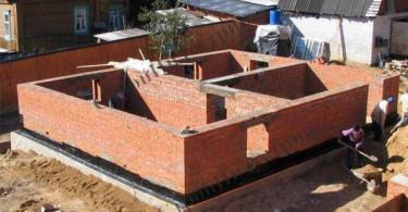 Виды фундаментов для дома из кирпича