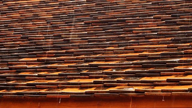крыша, дождь, мера