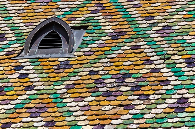крыша, плитка, структура