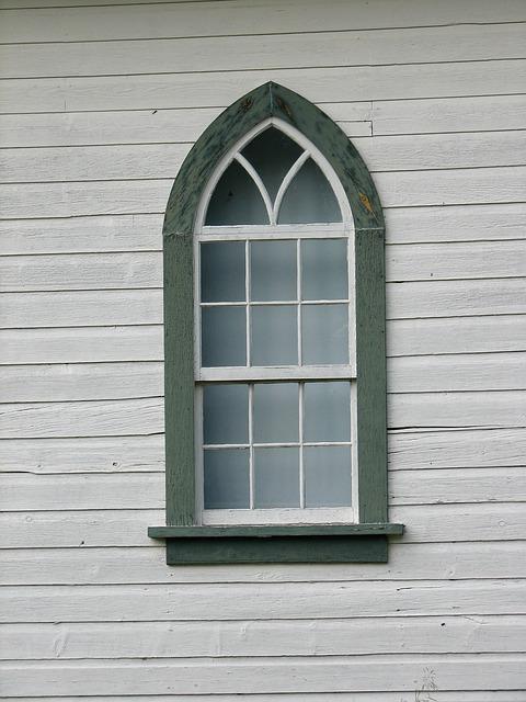 окно, церковь, стекло
