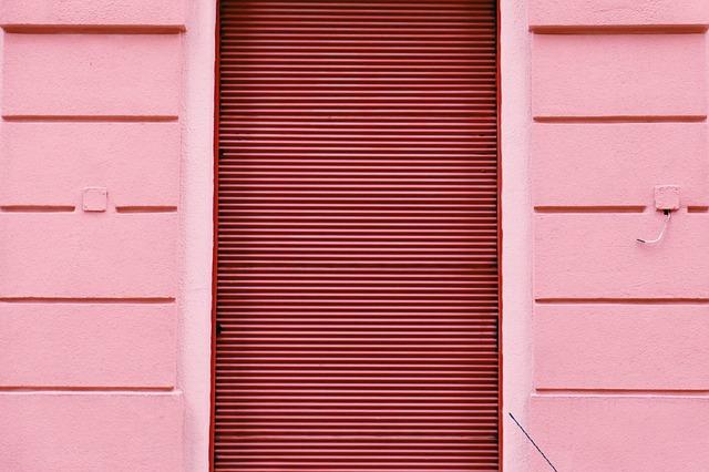 розовый, стены, сайдинг