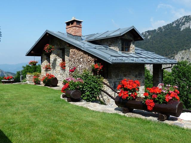 дом отдыха, летний дом, главная