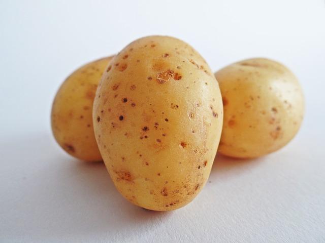 картофель, овощи, поле