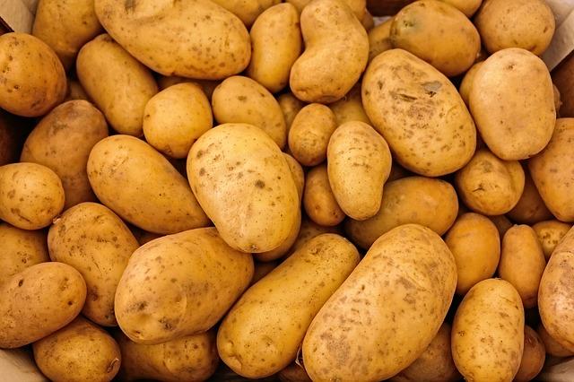 картофель, овощи, сырье