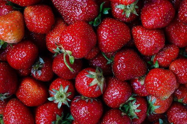 клубника, ягода, клубничка