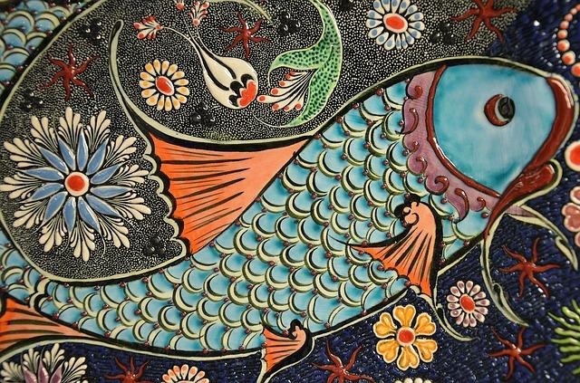 мозаика, плитка, искусство
