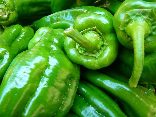 паприка, овощи, зеленый