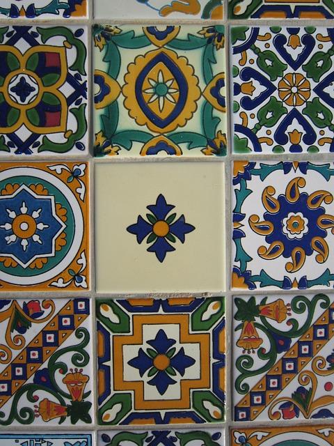 плитка, керамические, арабский