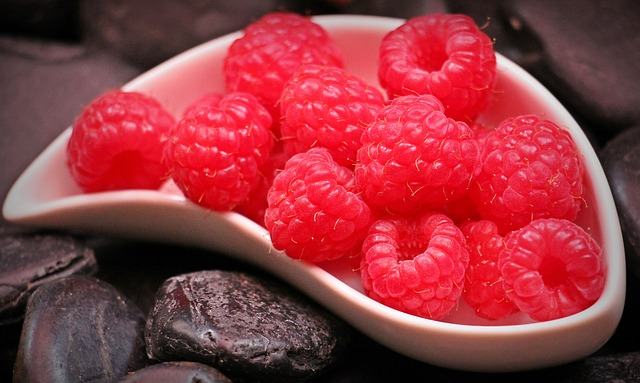 малина, фруктов, красный