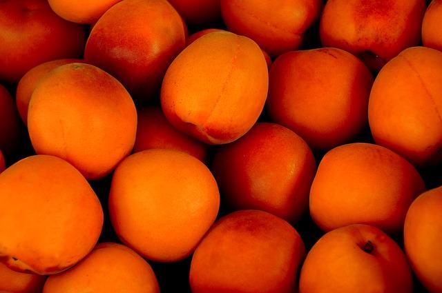 абрикос, тропические фрукты, фруктов